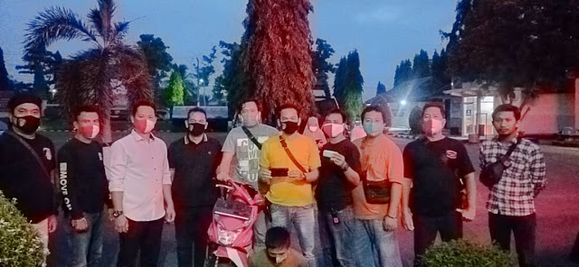"""""""Baru Menjabat""""  Kasat Reskrim Polres Lampung Utara,  AKP Gigih Andri Putranto, S.H., S.I.K Berhasil Ungkap Kasus Curas"""