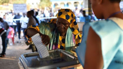 Sierra Leone votes for new president