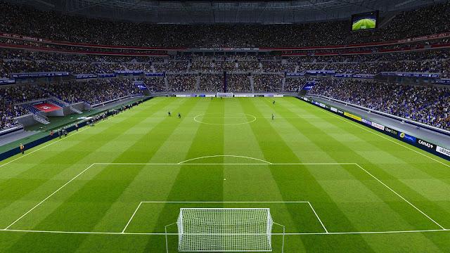 PES 2020 Groupama Stadium by DexX