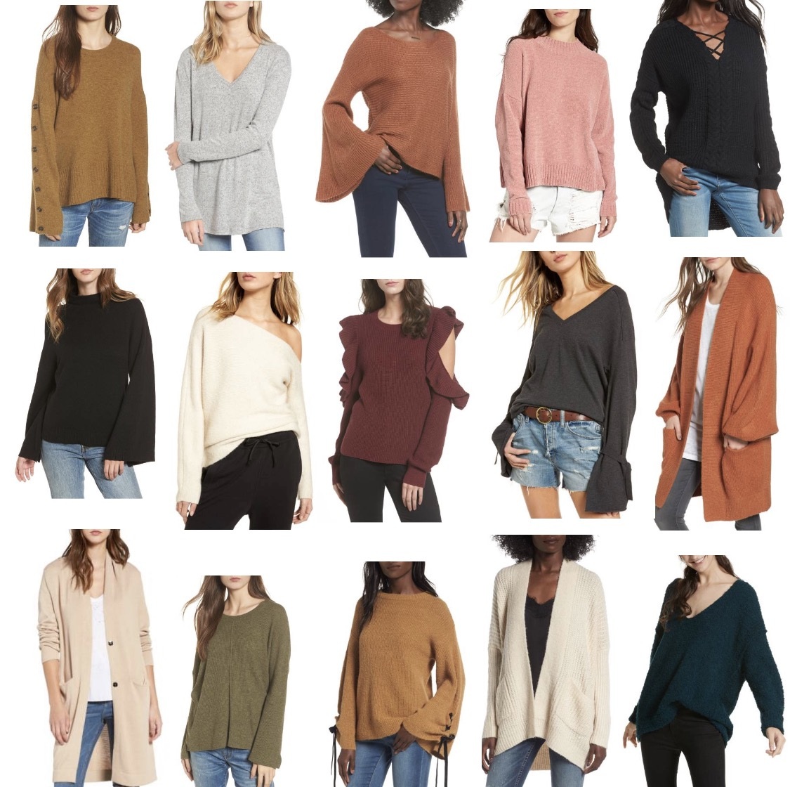 The Best Sweaters for Fall..... | Simply Morgan Blake