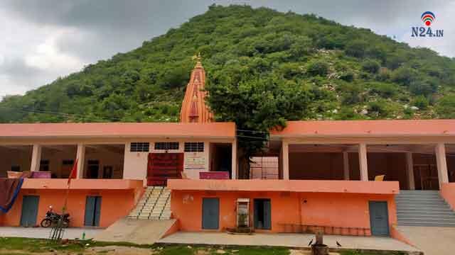 dhanushdhari hanuman temple akedadoongar jaipur