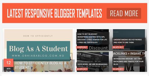 blogger recent posts