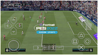 Download eFootball PES 2022 PPSSPP All Clubs Champions League Kits Have Been Updated & Peter Drury Callname