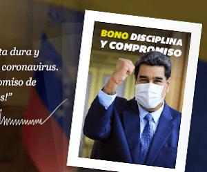 Bono Disciplina y Compromiso a través del #Carnetdelapatria