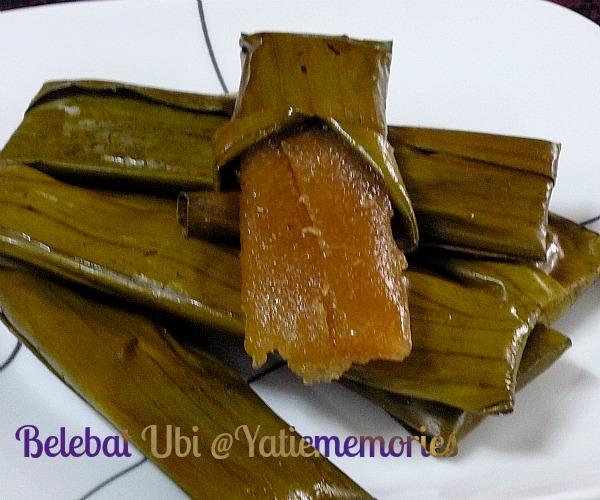 Resepi Lepat Ubi Kayu Kelantan