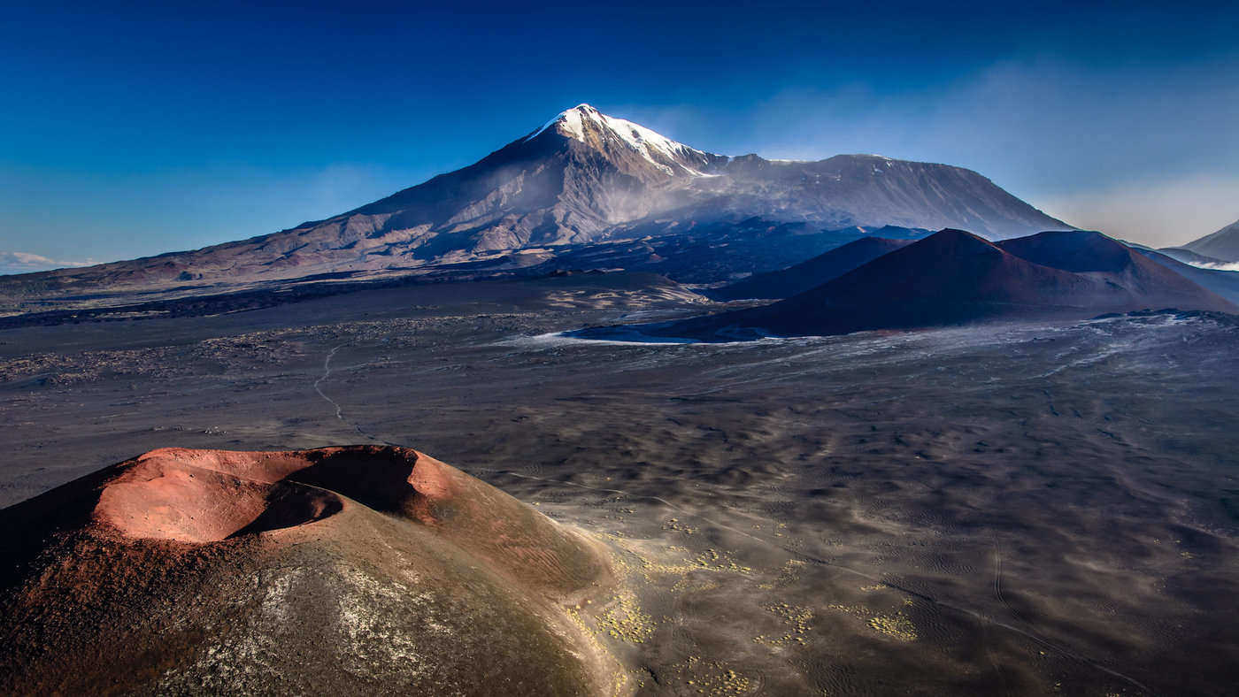 volcano tolbachik, kamchatka - kamchatka cave, russia