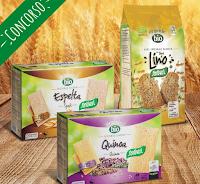 Logo Concorso Santiveri Febbraio 2020: vinci gratis 5 pacchi di prodotti Bio