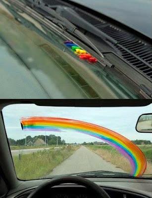 Farben streichen Auto lustige Bilder