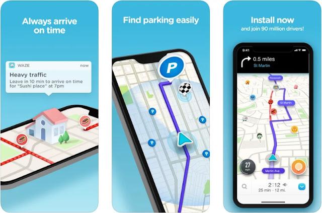 افضل برنامج خرائط 2020 GPS وملاحة على أندرويد وآيفون