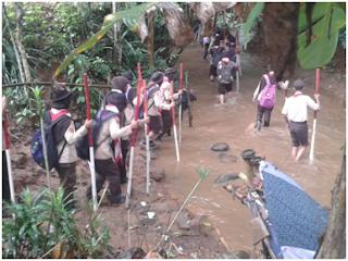 Penempuhan & Pengambilan Badge Ambalan Diponegoro & Dewi Sartika