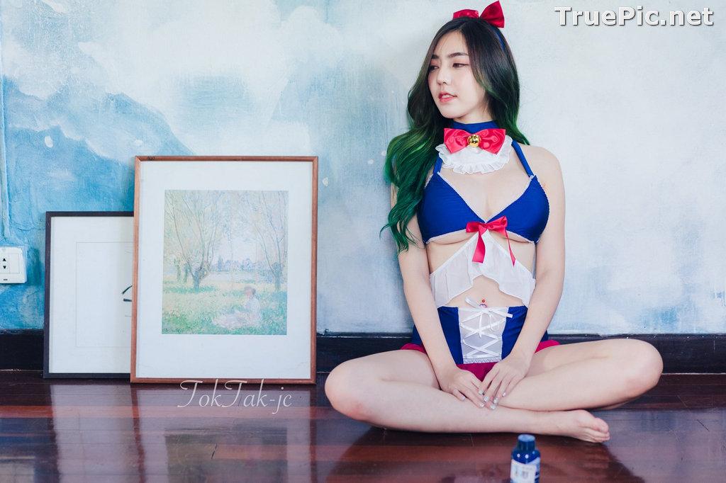 Image Thailand Model - Champ Phawida - Sailor Moon Lingerie - TruePic.net - Picture-7