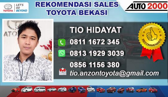 Rekomendasi Sales Toyota Cikarang Utara