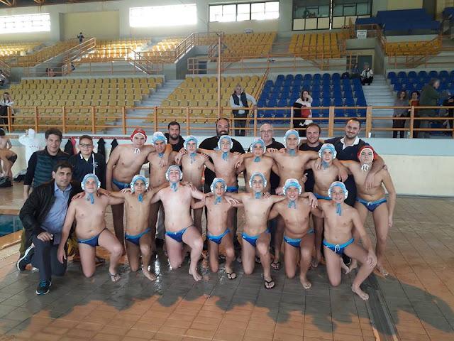 Πρόκριση του Ν.Ο. Ναυπλίου στην 3η φάση του Πανελληνίου πρωταθλήματος πόλο παίδων