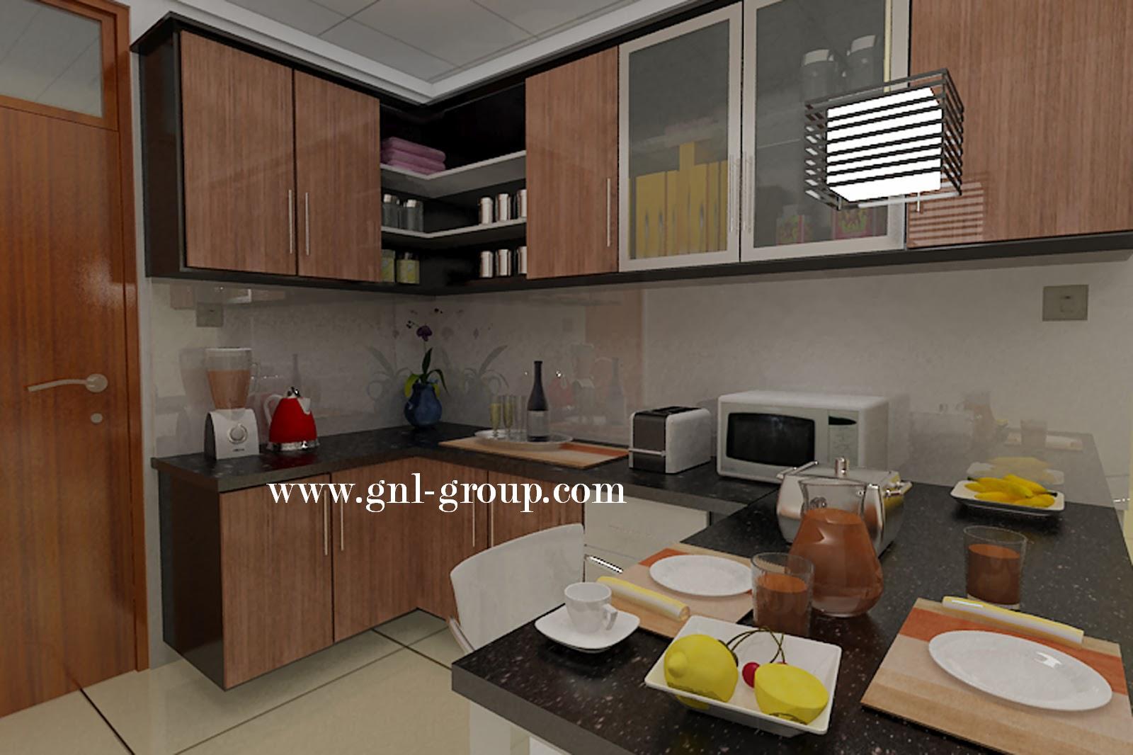 design kitchen set mencari model terbaru dari