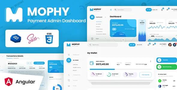 Best Payment Angular Admin Dashboard Template