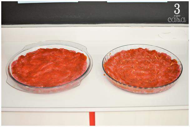 como fazer pizza de carne moída