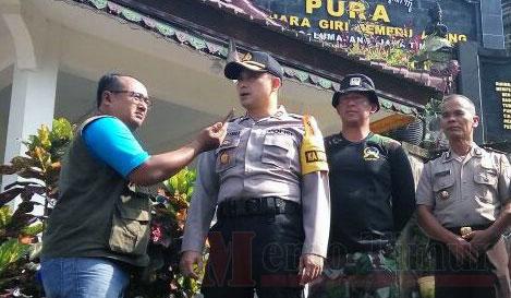Kapolres Lumajang AKBP Rachmat Iswan Nusi, S.IK, MH