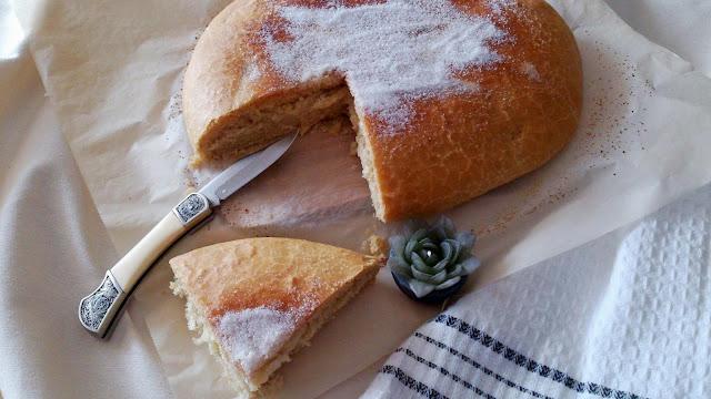 torta aceite azúcar matalaúva anís tradicional Andalucía andaluza receta masa horno oliva popular levado sencilla desayuno merienda postre