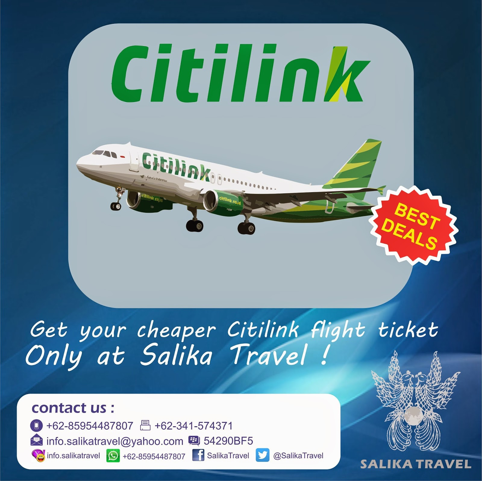 Citilink - Salika Travel