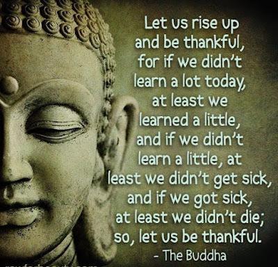 Buddha Thankful Quotes