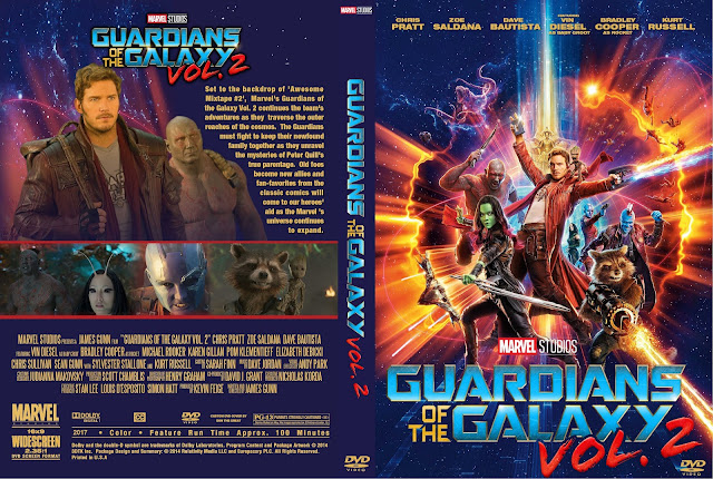 Guardians Of The Galaxy Vol 2 DVD Cover
