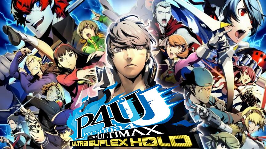 Persona 4 The Ultimax Ultra Suplex Hold Arcade Dump