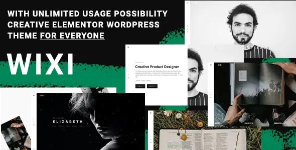 Best Elementor Portfolio WordPress Theme