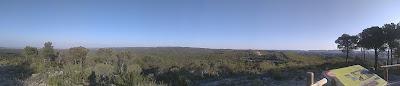 Panorámica desde La Palomera(Zuera), ayer
