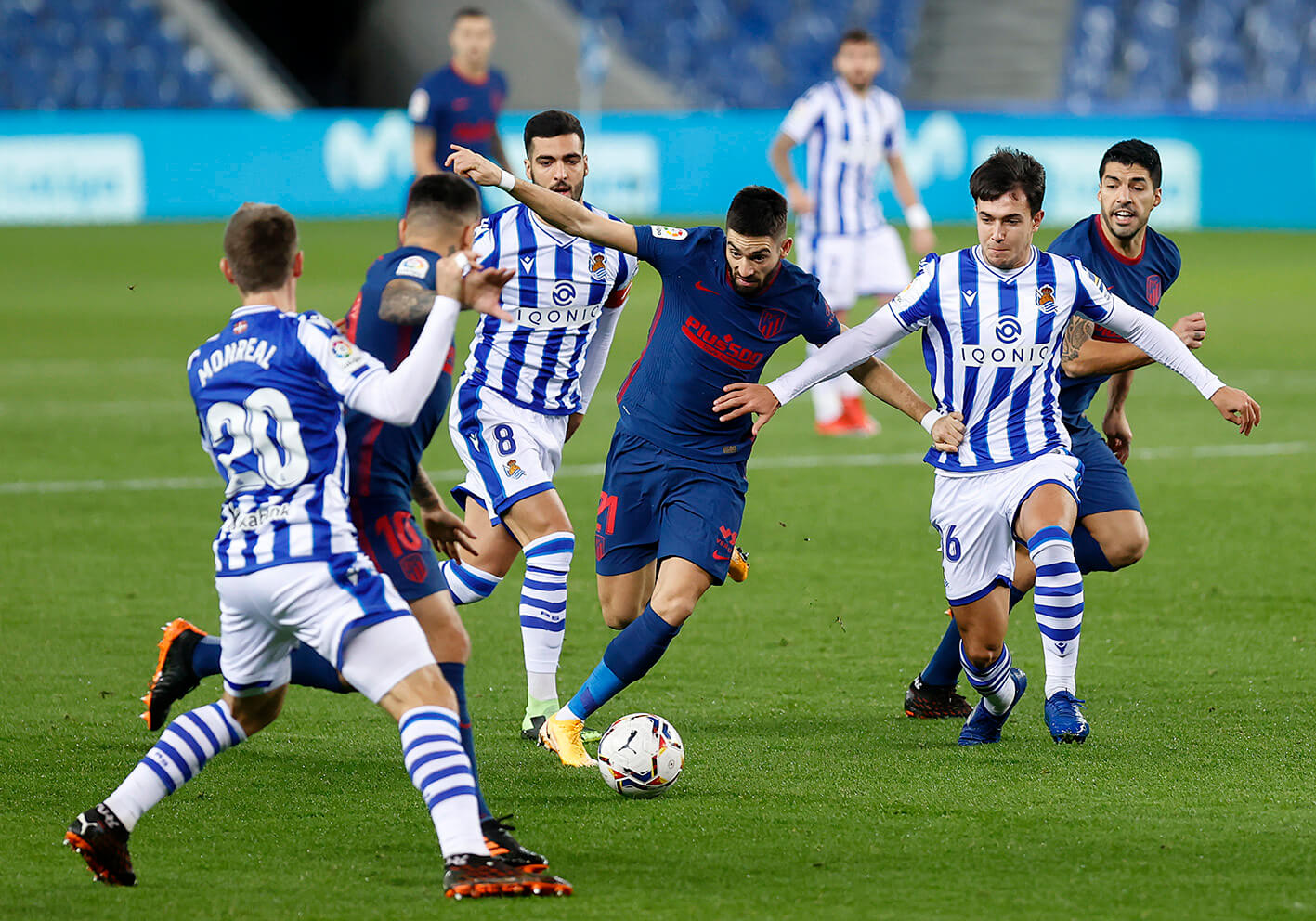 ملخص واهداف مباراة اتلتيكو مدريد وريال سوسيداد (2-0) الدوري الاسباني