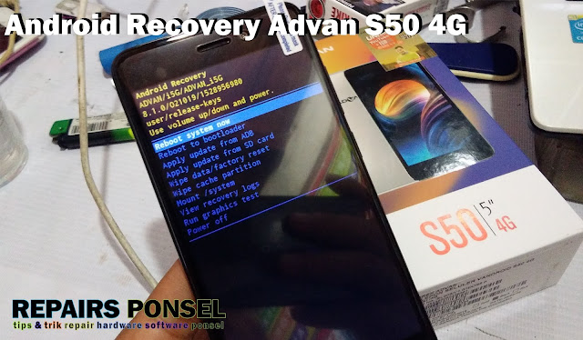 Advan S50 Android Recovery Mode