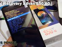 Cara Masuk Menu Recovery Advan S50 4G