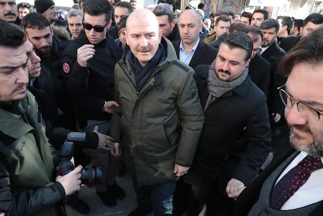Başkan Aksoy, depremzedeleri ziyaret etti