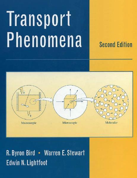 Transport Phenomena, Second Edition