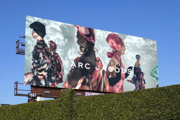 Marc Jacobs SS18 billboard