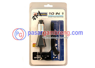 jual charger mobil 10 in 1
