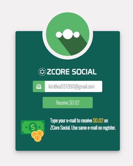 Zcore là gì  Hướng dẫn kiếm FREE 1$-50$ngày  từ mạng xã hội Zcore