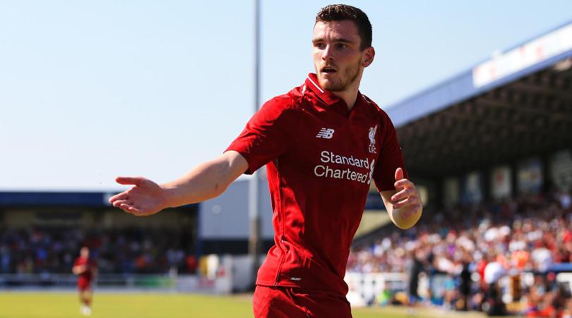 Robertson: Tekanannya Saat Ini Ada di Manchester City