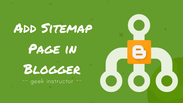 Add custom sitemap page in Blogger