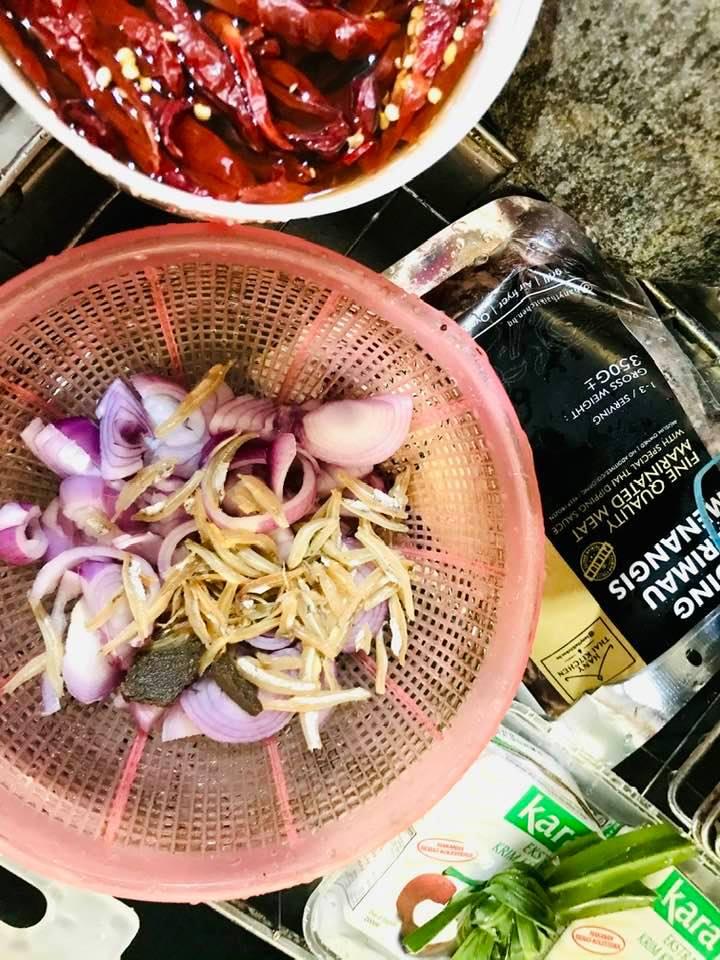 Resepi Nasi Lemak Paling Simple - Daging Harimau Menangis
