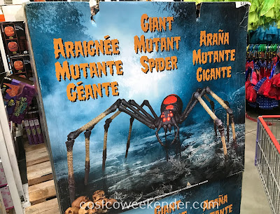 Costco 1900262 - The Giant Mutant Spider will sure to give a good fright to trick-or-treaters
