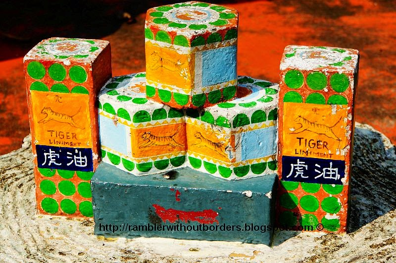 Tiger Balm products, Haw Par Villa, Singapore