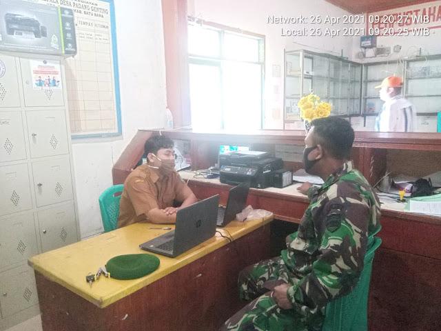 Melalui Komsos, Personel Jajaran Kodim 0208/Asahan Ciptakan Kerjasama Dengan Warga Binaannya