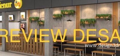 Desain restaurant dimsum dine-in take away
