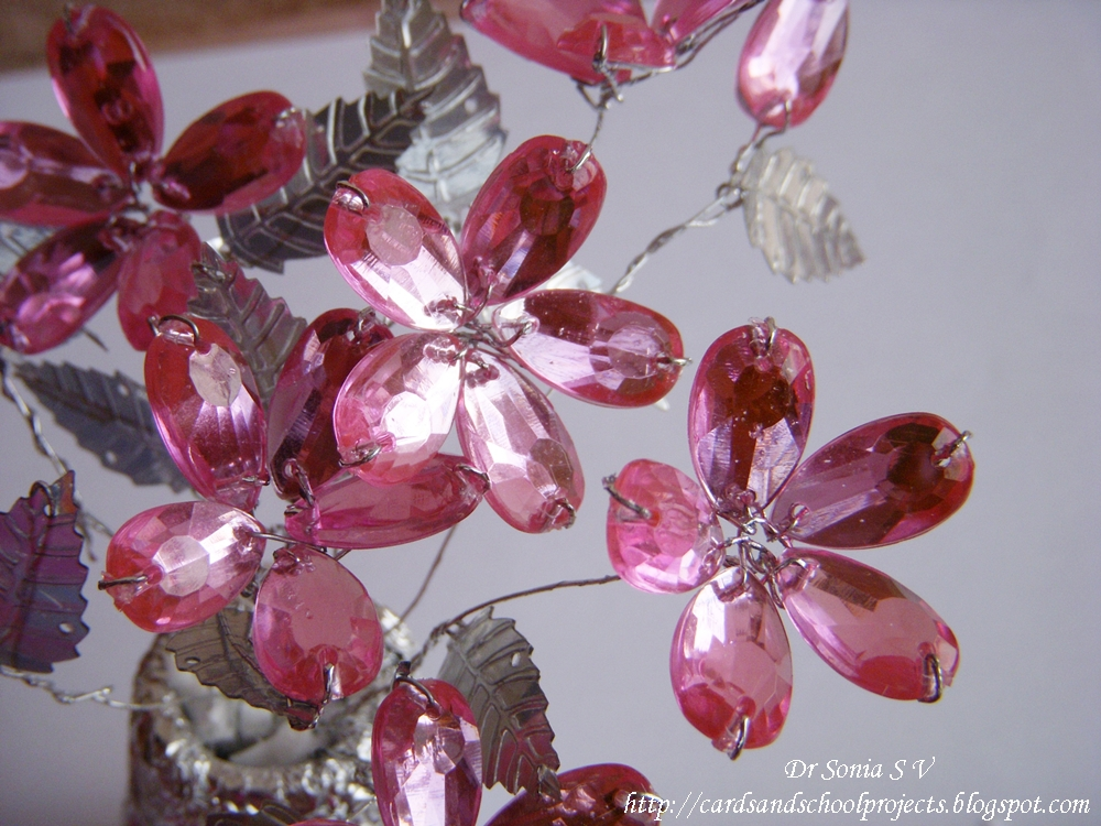 Cards ,Crafts ,Kids Projects: How to Make Crystal Flowers