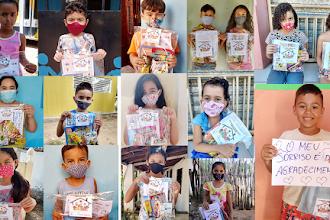 OSC CEACRI realiza entrega de kit pedagógico a cerca de 1940 crianças inscritas na instituição em Itapiúna, Baturité e Ibaretama