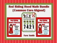 http://www.teacherspayteachers.com/Product/Three-Little-Red-Riding-Hood-Math-Centers-Bundled-and-Common-Core-Aligned-648106