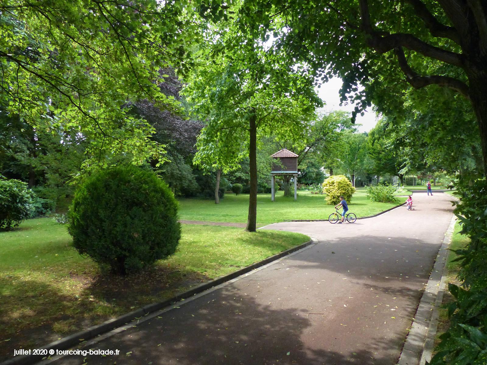 Square Alexis Parsy, Tourcoing, 2020