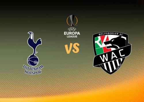Tottenham Hotspur vs Wolfsberger AC  Resumen y Partido Completo