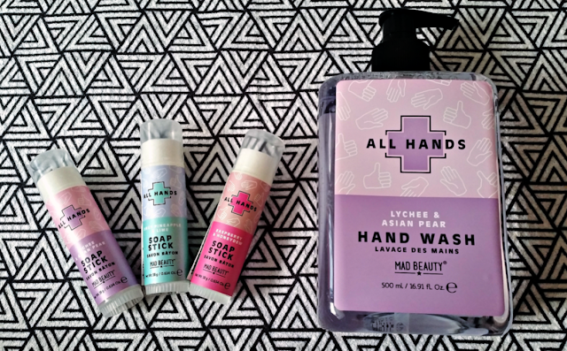 The All Hands collection from Mad Beauty