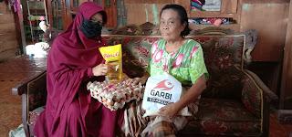 Ditengah Covid-19, Garbi berbagi dengan keluarga kurang mampu di Soppeng